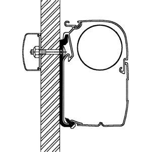 Thule Boční adaptér pro markýzy Thule Omnistor, sada 5 ks 40 cm