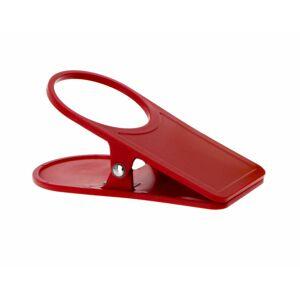 Gimex Držák nápojů s klipem na stůl Gimex červená