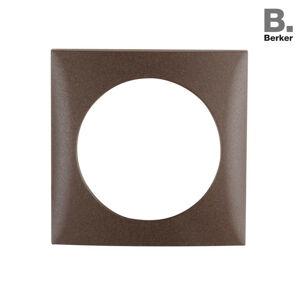 Berker Integro rámeček hnědá