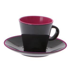 Gimex Espresso set v dekoru Color Line Brombeer 4 díly