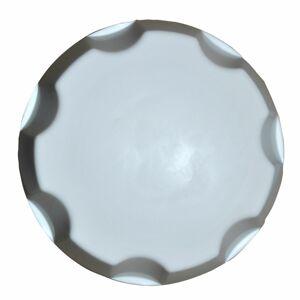 Šroubovací uzávěr nádrže na čerstvou vodu zářivě bílá