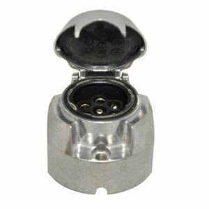 Zásuvka 7 pin, ISO 1724 - kovová 140/110