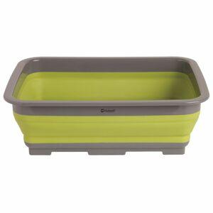Outwell Skládací nádoba na mytí nádobí Outwell Collaps obdélníková světle zelená