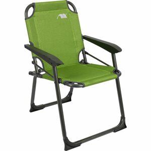 Frankana Freiko Dětská skládací kempingová židle HighQ Greenline zelená