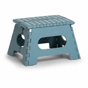 Zeller Skládací plastová stolička Zeller modrá 22 cm