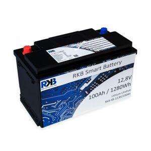 RKB Electronic Lithiové baterie RKB Smart 100 Ah